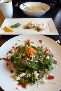 Canvas Cove Bistro lunch