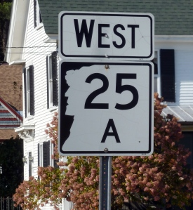 NH road sign