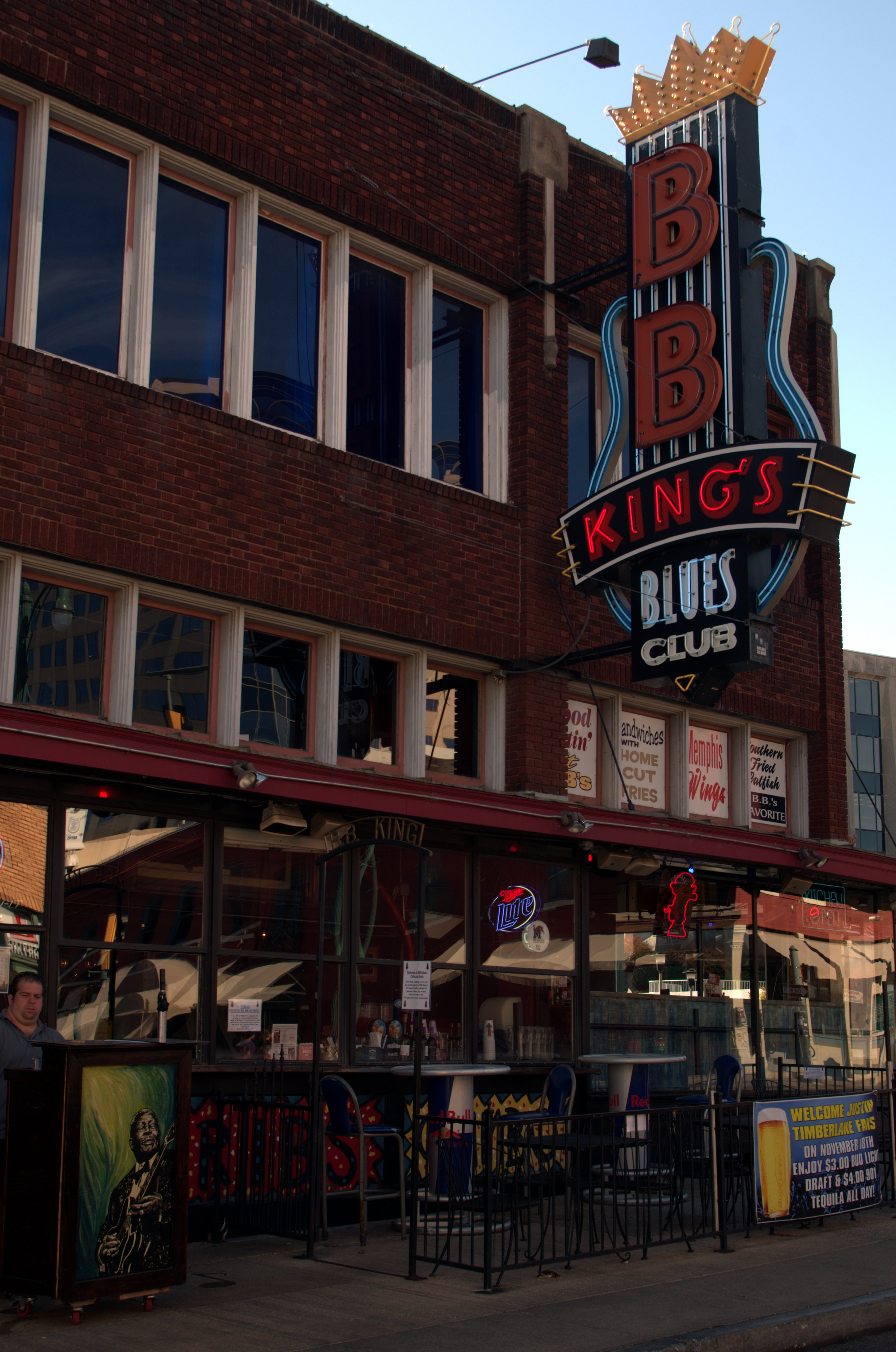 Just a few blocks away in downtown is Beale Street, home to music ...