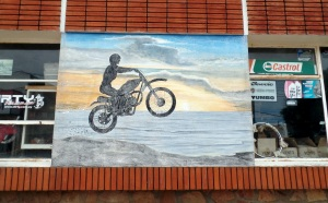 """Not far in from the border of Brasil the two-lane highway we are moving west on widens strangely into this unmarked 25-meter or more wide piece of road. As I ride over the place that it widens I see some... <a href=""""https://sturgischick.wordpress.com/2015/06/14/coastal-uruguay-and-the-ridiculous-bank-incidents/"""">Read More ›</a><img alt="""""""" border=""""0"""" src=""""https://pixel.wp.com/b.gif?host=sturgischick.wordpress.com&blog=49567018&post=5781&subd=sturgischick&ref=&feed=1"""" width=""""1"""" height=""""1""""/>"""