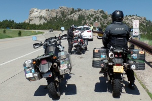 Riding in the Black Hills
