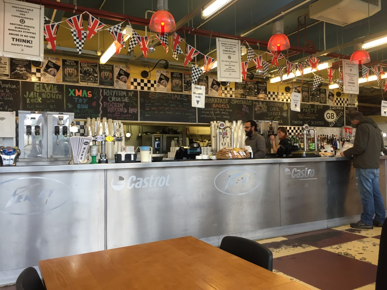 London – the Ace Cafe and Brooklands …and familytime