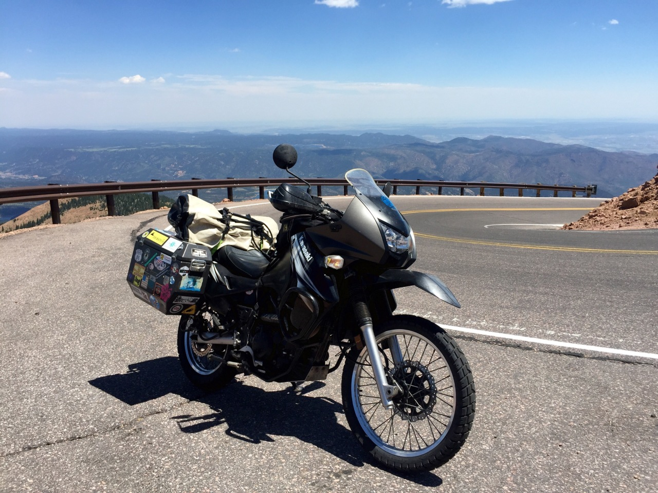 Riding to Colorado…finally back on thebike